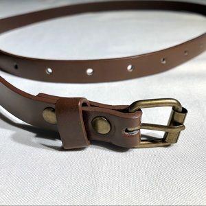 Thin Brown Belt